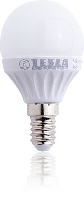 Tesla LED žárovka mini BULB, E14, 3W
